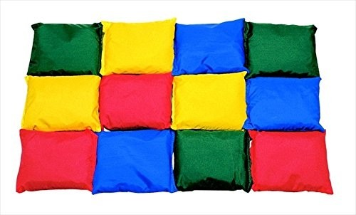5 in. Nylon Beanbags Prism Colors - Doz