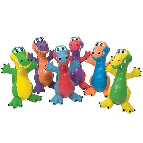 Color My Class Rubber Critters Frogs  - 6/Set - US Games - 7752460
