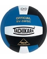 Tachikara SV5WSC Sensi-Tec Volleyball Ball - Royal/ White/ Black