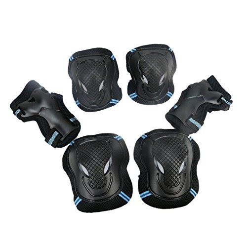 Protective Skate Gear: Wrist Guards, Elbow Pads & Knee Pads, XXS-XL