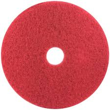 14 Inch Red Pad, 3M 5100 - 5/Case