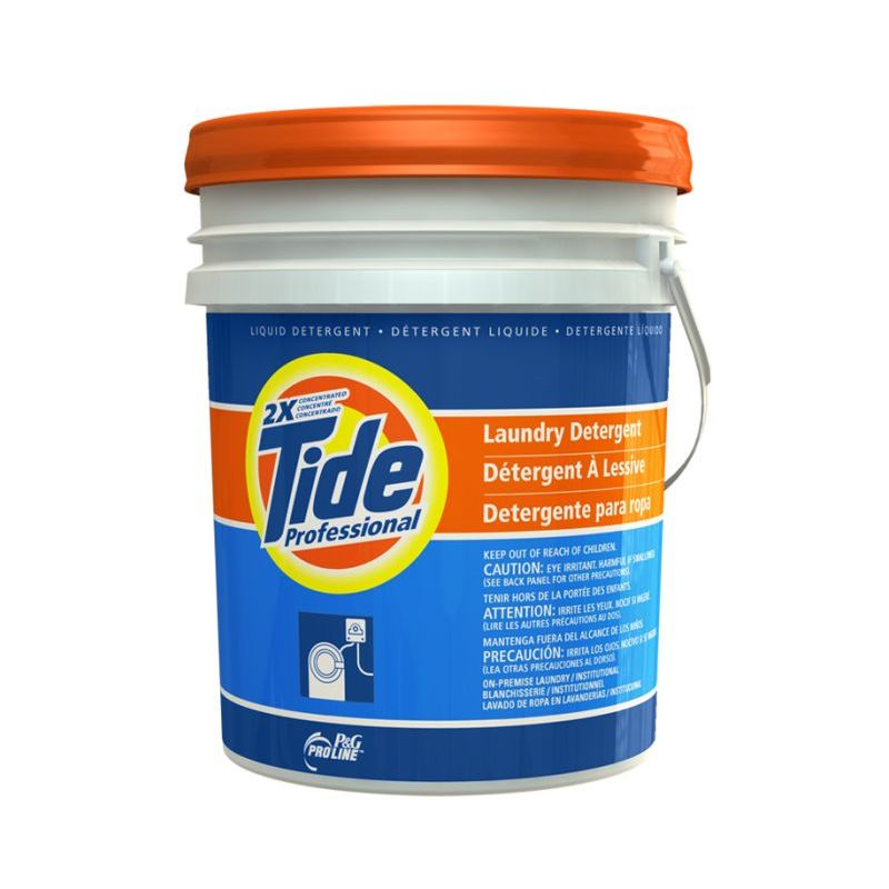 Tide Laundry Detergent, P & G For Prioritized System - 5 Gallon Pail