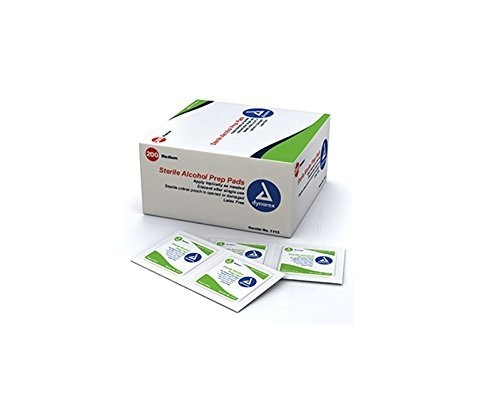 Alcohol Wipes - Sterile Prep Pads, 200/Box - 49251