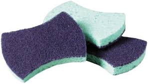 Scotch Brite 3000 Scrubbing Sponge, 3M - 20/Case