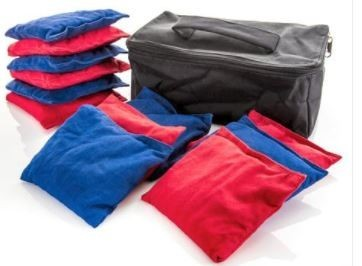5 X 5 Inch Team Bean Bag Set, Cotton - 12/Set - 43-225