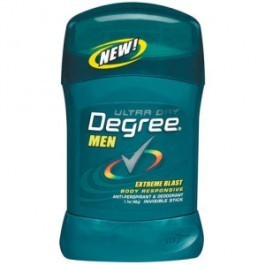 Degree Men's Invisible Solid, 1.6 oz., Extreme Blast - 44506