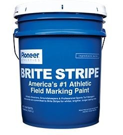 Brite Stripe Field Marking Paint, Pioneer - Yellow - 5 Gallon Pail