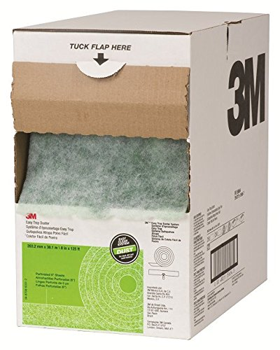 "8"" x 125ft Roll Easy Trap Duster, 250 Easy Tear 8"" X 6"" Sheets - 3M 55654W"
