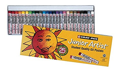 Cray-Pas, Oil Pastels, Sakura Junior Artist - 25/Set