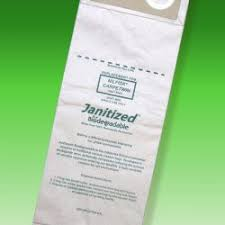 Vacuum Bags to fit Nilfisk-Advance CarpeTwin 14 Inch Vacuum #703768 - 10/Pkg