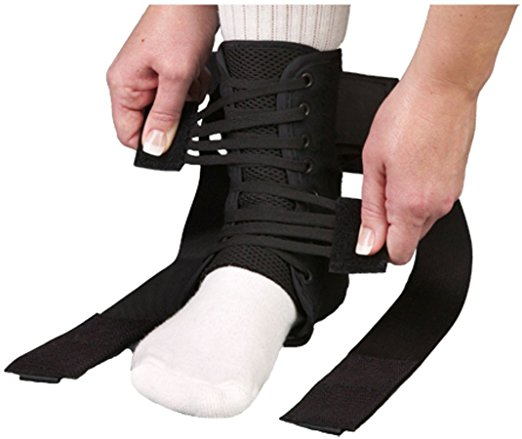 Soft Ankle Support, Velcro Closure, Medium - 65043