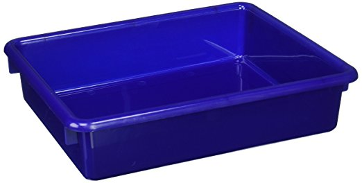 Storage Tray - 13 X 10-1/2 X 2-7/8 In. - Blue