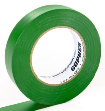 "2"" X 60 Yds Floor Marking Tape, Green"