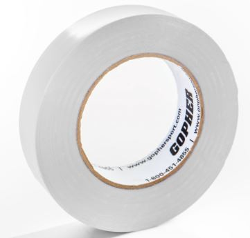 "1"" X 60 Yds Vinyl Floor Marking Tape, White"