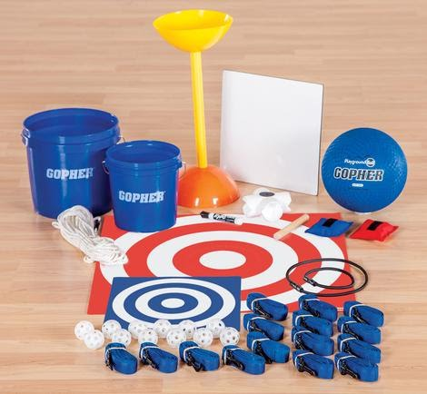Object Retrieval Team Building System, 6 Activities & Instructions/Set