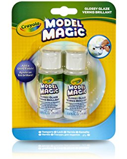 Crayola Model Magic Glaze Gold Glitter and Gold
