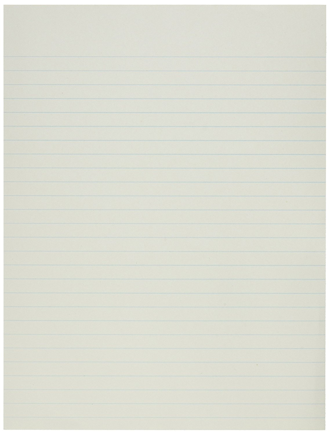 8 X 10-1/2 Essay And Composition Paper, Ruled 3/8 Margin On Both Sides, 20 lb., White - 500 Sheets/Ream