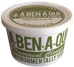 A-Ben-A-Qui Graffiti Remover, Non Toxic, Non Flammable, Non Hazardous, Multi Purpose Paste Cleaner, 20 Oz Tubs - 6/Case - GREEN