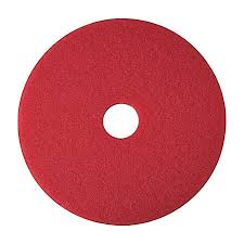 20 Inch Red Washing Pad - Norton - 5/Case