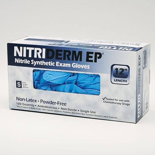 NitriDerm COATS Powder-Free Exam Gloves, Non Sterile, Small - 200/Box - 1003685