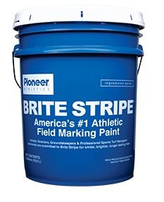 Brite Stripe, Pioneer ATHW5, Field Marking Paint - White - 5 Gallon Pail (SAMPLE REQUIRED IF ALTERNATE)