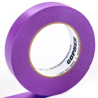 "1"" X 60 Yds Floor Marking Tape, Purple"