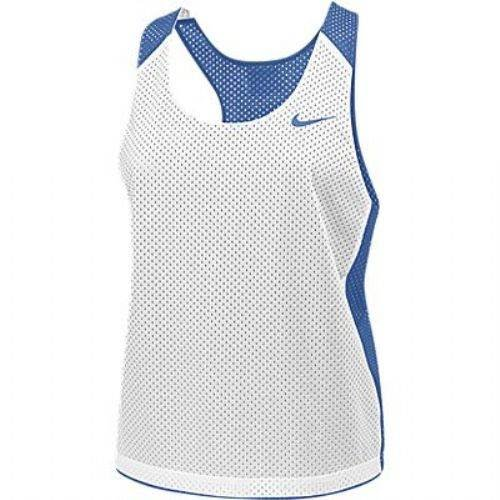 Nike 286877 Mesh Tank Top, Women's Racer Reversible, With Lettering And Logo - Specify Color And Size - Each