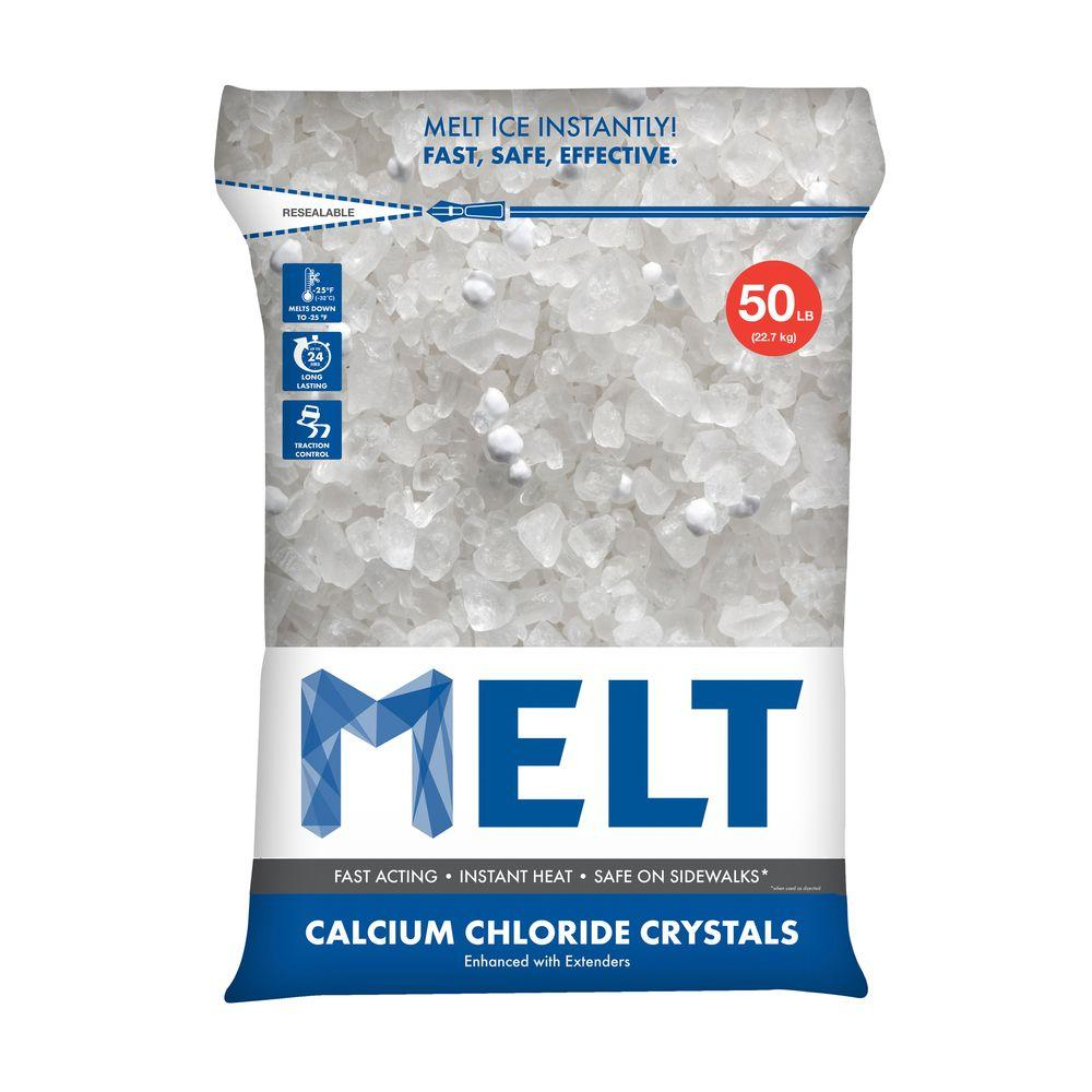 Blue Lighting Ice Melt - 50 Lb. Bag - 49/Pallet