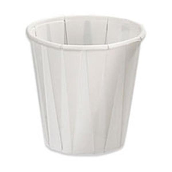 3-1/2 Oz. Cup, Pleated Paper - 100/Pkg - 21013