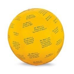 "15"" Dia - Nutrition Facts Toss-Up Ball"