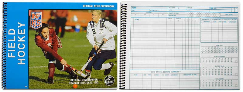 Field Hockey Official Scorebook - Each