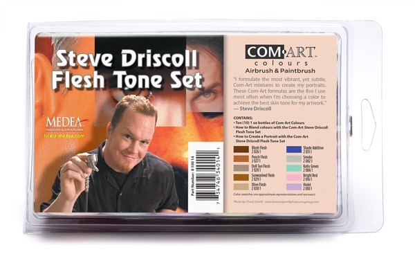 Airbrush Flesh Tone Colors - 10/Set