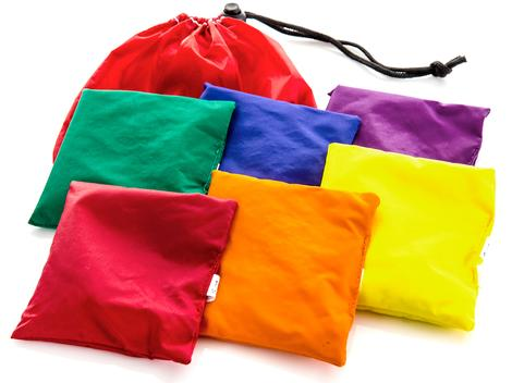 5 X 5 Inch Bean Bags, Nylon - 6/Set - 20-536