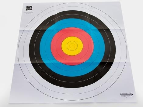 "36"" Square Bull's-Eye Target Faces, Paper Tack On"