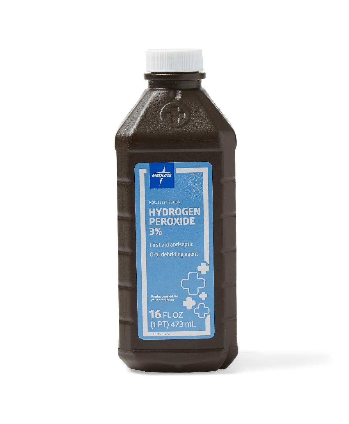 Hydrogen Peroxide - 3% Solution, 16 Oz - 34041