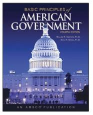 Basic Principles of American Government, Student Textbook, Perfection Learning - 1995106