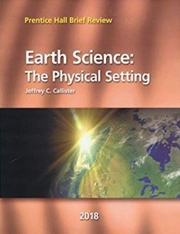 Earth Science Student Edition 2018 Review Book - 0328988529