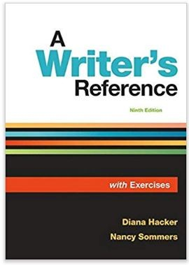 A Writer's Reference With Exercises, 9th Edition - Bedford, Freeman & Worth 131910696x