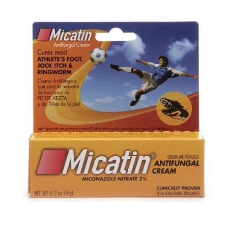 Micatin Antifungal Athletic Foot Cream - .5 Oz - 43145