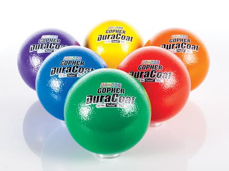 6.3 Inch Super SoftiBall Coated Foam Balls, Assorted Colors - 6/Set - 71-542