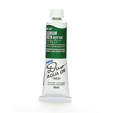 Duo Aqua Oil Color, 40 ml - Cadmium Green