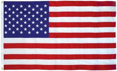 2' X 3' U.S. Flag, Polyester