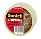 "1.88"" X 54.6 Yds. Scotch 3750 Packaging Tape, Clear"