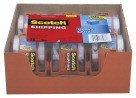 "1.88"" X 22.2 Yd. Scotch Heavy-Duty Shipping Tape with Dispensers, Clear - 6/Pkg"