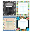 Student Incentive Chart Combo Pack, 4 Designs - 144/Pkg