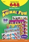 Sparkle Animal Fun Sticker Variety Pack - 648/Pkg