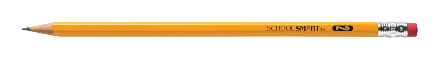 Standard No. 2 Pencil with Latex-Free Eraser - 12/Pkg