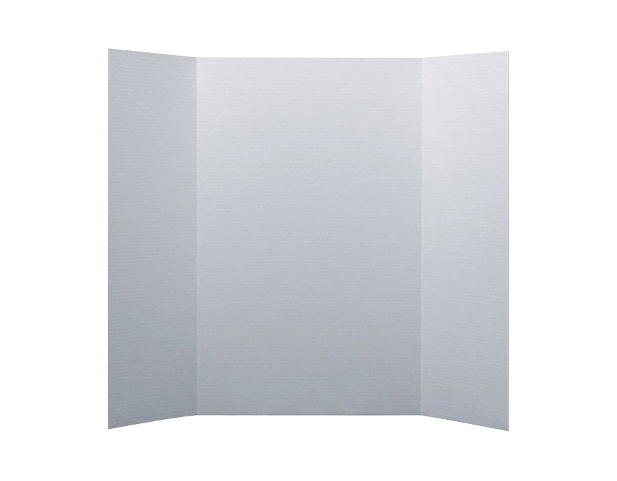 Mini Project Display Board, 20 X 15 in, White, 10/Pkg