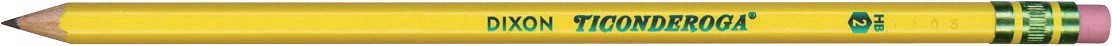 #2 Ticonderoga Pencil - 96/Box - DIX13872
