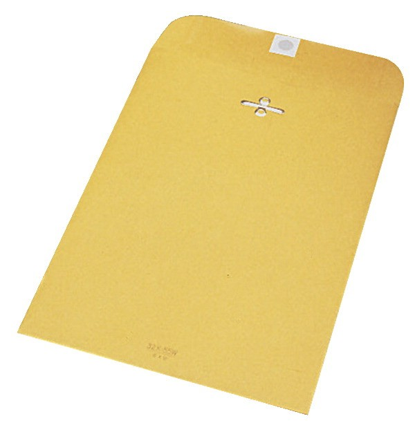9 X 12 Clasp Catalog Envelopes, Manila Kraft - 100/Pkg
